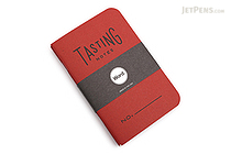 "Word Notebooks - Tasting Notes - 3.5"" x 5.5"" - Pack of 3 - Red - WORD NOTEBOOKS W-TASTINGRED"