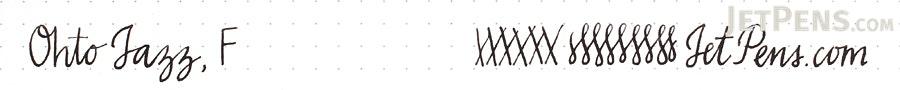 Ohto Jazz Fountain Pen - Fine Nib - White - OHTO FF-13J-WT