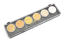 Finetec Artist Mica Watercolor - Pearl Gold & Silver - 6 Color Set - FINETEC M600