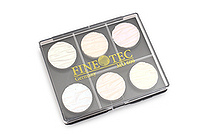 Finetec Artist Mica Watercolor - Pearl Moiree Iridescent - 6 Color Set - FINETEC MO600