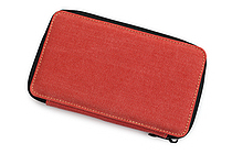 Global Art Pencil Case - Canvas - 24 Pencil Capacity - Rose - GLOBAL ART 256240