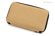 Global Art Pencil Case - Canvas - 24 Pencil Capacity - Wheat - GLOBAL ART 257240