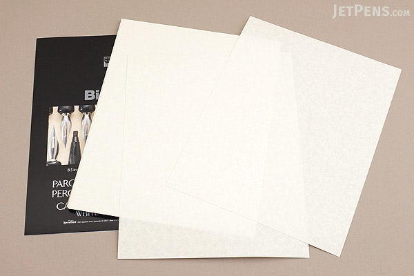 "Speedball Bienfang Calligraphy Parchment Paper - 8.5"" x 11"" - White - 50 Sheets - SPEEDBALL R400127"