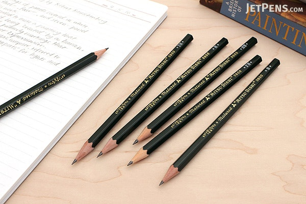 Uni Mitsubishi 9800 Pencil - Bundle of 6 Lead Grades - JETPENS UNI K9800 BUNDLE