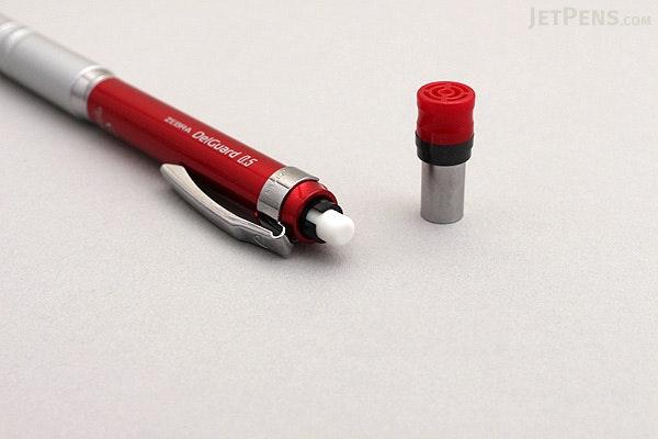Zebra DelGuard Type Lx Mechanical Pencil - 0.5 mm - Red - ZEBRA P-MA86-R