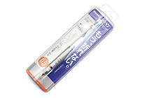 Zebra DelGuard Type Lx Mechanical Pencil - 0.5 mm - White - ZEBRA P-MA86-W