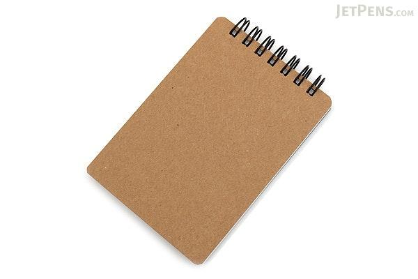 Maruman Mnemosyne N185 Roots Notepad - A7 - Unruled - MARUMAN N185A