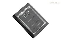 Apica CD Notebook - CD8 - B7 - 6 mm Rule - Black - APICA CD8-BK