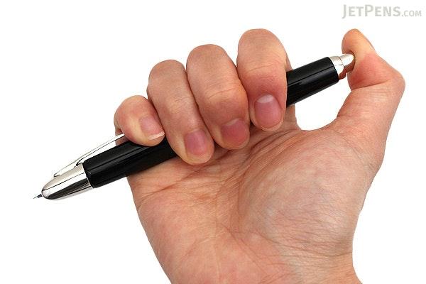 Pilot Vanishing Point Fountain Pen - Black with Rhodium Trim - Extra Fine Nib - PILOT 60341