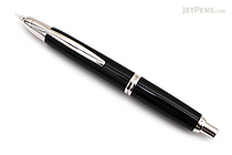 Pilot Vanishing Point Fountain Pen - Black with Rhodium Trim - Medium Nib - PILOT 60242