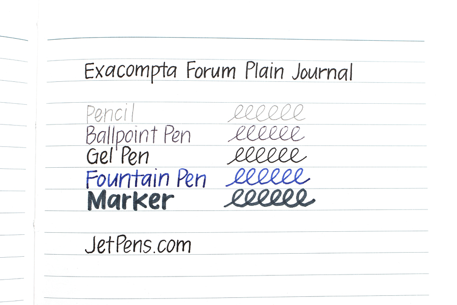 Exacompta Forum Plain Journal - 200 Sheets - Blank - EXACOMPTA 1400