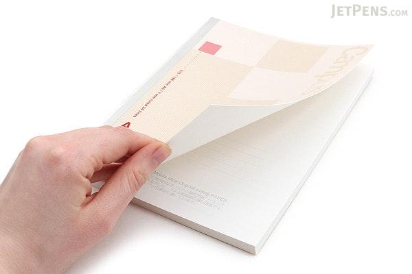 Kokuyo Campus High Grade MIO Paper Notebook - A5 - 7 mm Rule - Red Accents - KOKUYO NO-GG108A