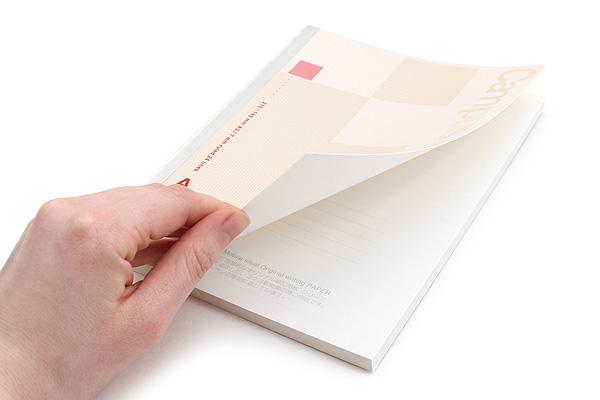 Kokuyo Campus High Grade MIO Paper Notebook - A5 - Red Accents - KOKUYO NO-GG108A