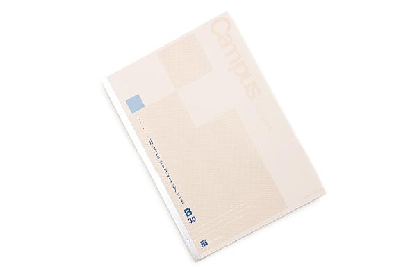 Kokuyo Campus High Grade MIO Paper Notebook - B5 - 6 mm Rule - Blue Accents - KOKUYO NO-GG3B