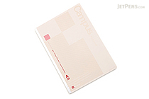 Kokuyo Campus High Grade MIO Paper Notebook - B5 - 7 mm Rule - Red Accents - KOKUYO NO-GG3A