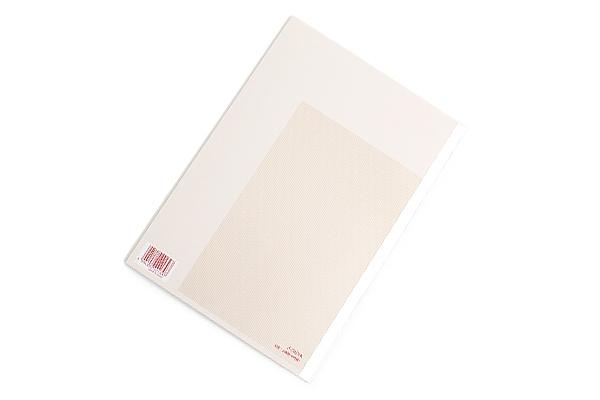 Kokuyo Campus High Grade MIO Paper Notebook - B5 - 7 mm Rule - Red Accents - KOKUYO NO-GG3A