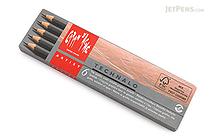 Caran d'Ache Technalo Water-Soluble Graphite Pencil - Set of 6 - CARAN D'ACHE 779.406