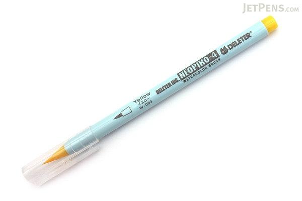 Deleter Neopiko 4 Watercolor Brush Pen - Yellow (W-003) - DELETER 311-4003
