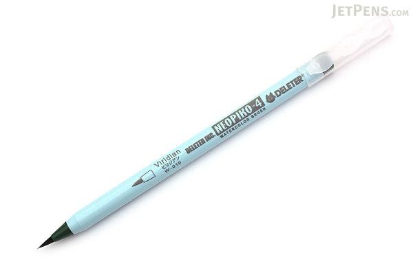Deleter Neopiko 4 Watercolor Brush Pen - Viridian (W-019) - DELETER 311-4019