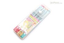 Deleter Neopiko 4 Watercolor Brush Pen - 5 Color Set A - DELETER 311-405A