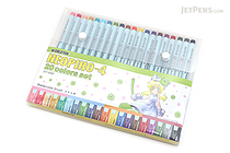 Deleter Neopiko 4 Watercolor Brush Pen - 20 Color Set - DELETER 311-420Z