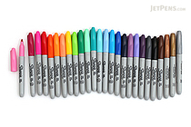 Sharpie Permanent Marker - Fine Point - 26 Color Bundle - JETPENS SHARPIE F BUNDLE