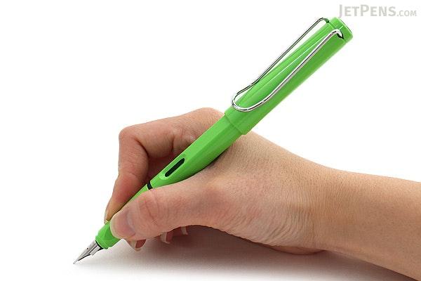 Lamy Safari Fountain Pen - Green - Medium Nib - LAMY L13GNM