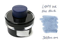 Lamy Blue Black Ink - 50 ml Bottle - LAMY LT52BK-BL