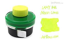 Lamy Neon Lime Ink - 50 ml Bottle - LAMY LT52NE