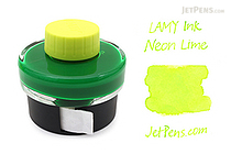 Lamy Neon Lime Ink - 50 ml Bottle - LAMY LT52NE