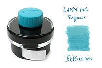 Lamy Turquoise Ink - T52 - 50 ml Bottle - LAMY LT52TURQ