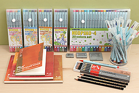 New Products: Watercolor Brush Pens, Water-Soluble Pencils, Watercolor Paper, Kneaded Erasers, and More!