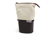 Sun-Star Delde Slide Pen Pouch - Natural Black - SUN-STAR S1409557
