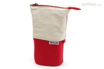 Sun-Star Delde Slide Pen Pouch - Natural Red - SUN-STAR S1409565