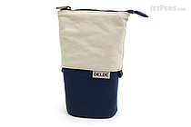 Sun-Star Delde Slide Pen Pouch - Natural Blue - SUN-STAR S1409573