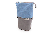 Sun-Star Delde Slide Pen Pouch - Cool Light Blue - SUN-STAR S1409581