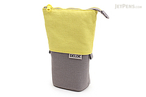 Sun-Star Delde Slide Pen Pouch - Cool Light Yellow - SUN-STAR S1409603