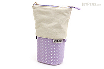Sun-Star Delde Slide Pen Pouch - Girly Light Violet - SUN-STAR S1409638