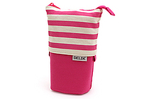 Sun-Star Delde Slide Pen Pouch - Pop Pink - SUN-STAR S1409654
