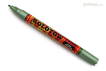 Molotow ONE4ALL Acrylic Paint Marker - 127HS - 1.5 mm - Metallic Light Green (226) - MOLOTOW 127.504