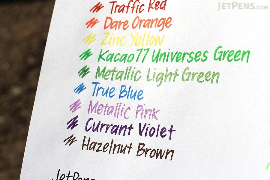 Molotow ONE4ALL Acrylic Paint Marker - 127HS - 1.5 mm - Metallic Light Green (226) - MOLOTOW 127.504