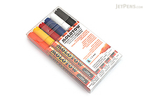 Molotow ONE4ALL Acrylic Paint Marker - 127HS - 1.5 mm - 6 Color Set - Basic - MOLOTOW 200.465