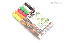 Molotow ONE4ALL Acrylic Paint Marker - 127HS - 1.5 mm - 6 Color Set - Neon - MOLOTOW 200.466