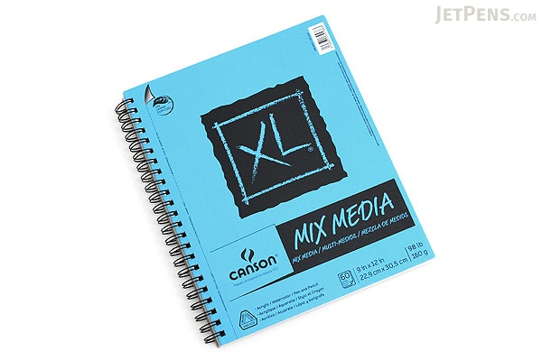 """Canson XL Mix Media Pad - 9"""" x 12"""" - CANSON 100510927"""
