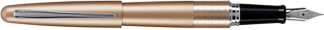 Gold Dot Pilot Metropolitan Fountain Pen