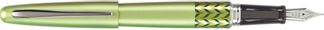 Green Marble Pilot Metropolitan Fountain Pen