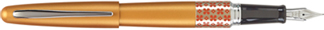 Orange Flower Pilot Metropolitan Fountain Pen