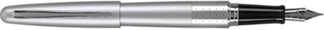 Silver Dot Pilot Metropolitan Fountain Pen
