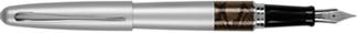Silver Python Pilot Metropolitan Fountain Pen