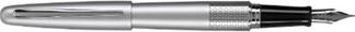 Silver Zigzag Pilot Metropolitan Fountain Pen